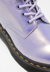 Dr. Martens - 1460 VEGAN 8 EYE BOOT - Lace-up ankle boots - purple heather/opaline - 2