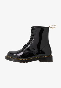 Dr. Martens - 1460 VEGAN 8 EYE BOOT - Lace-up ankle boots - black/opaline - 1