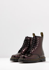 Dr. Martens - 1460 8 EYE BOOT - Lace-up ankle boots - purple/royal sparkle - 4