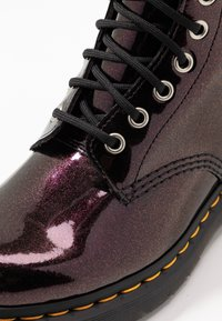 Dr. Martens - 1460 8 EYE BOOT - Lace-up ankle boots - purple/royal sparkle - 2