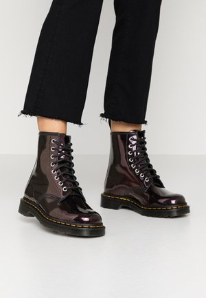 1460 8 EYE BOOT - Stivaletti stringati - purple/royal sparkle