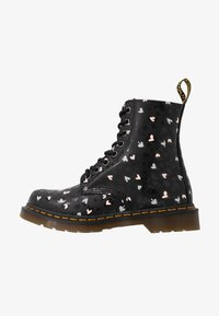 Dr. Martens - 1460 PASCAL HEARTS 8 EYE BOOT - Lace-up ankle boots - black - 1