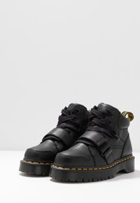 Dr. Martens - ZUMA II 5 EYE - Botines bajos - black virginia - 4