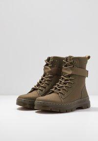 Dr. Martens - COMBS TECH - Platform ankle boots - olive - 4