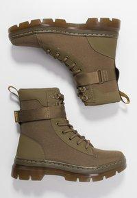 Dr. Martens - COMBS TECH - Platform ankle boots - olive - 3