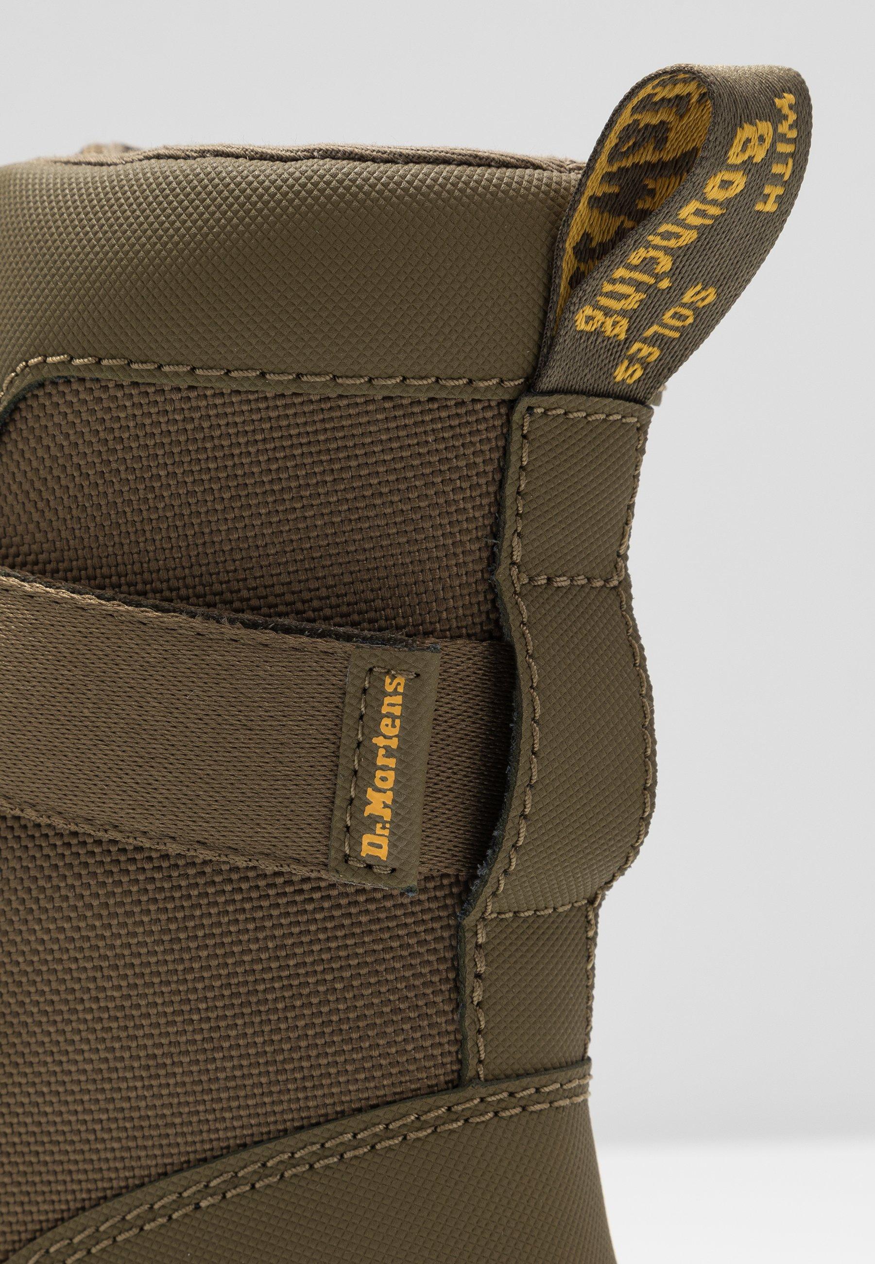 Dr. Martens COMBS TECH - Platform ankle boots - olive