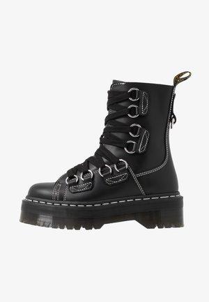 JADON XL - Platåstövletter - black