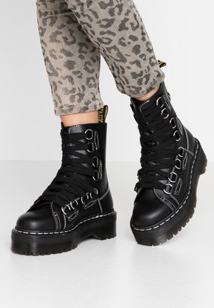 JADON XL - Bottines à plateau - black