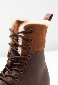 Dr. Martens - 1460 KOLBERT SNOWPLOW - Lace-up ankle boots - dark brown - 2