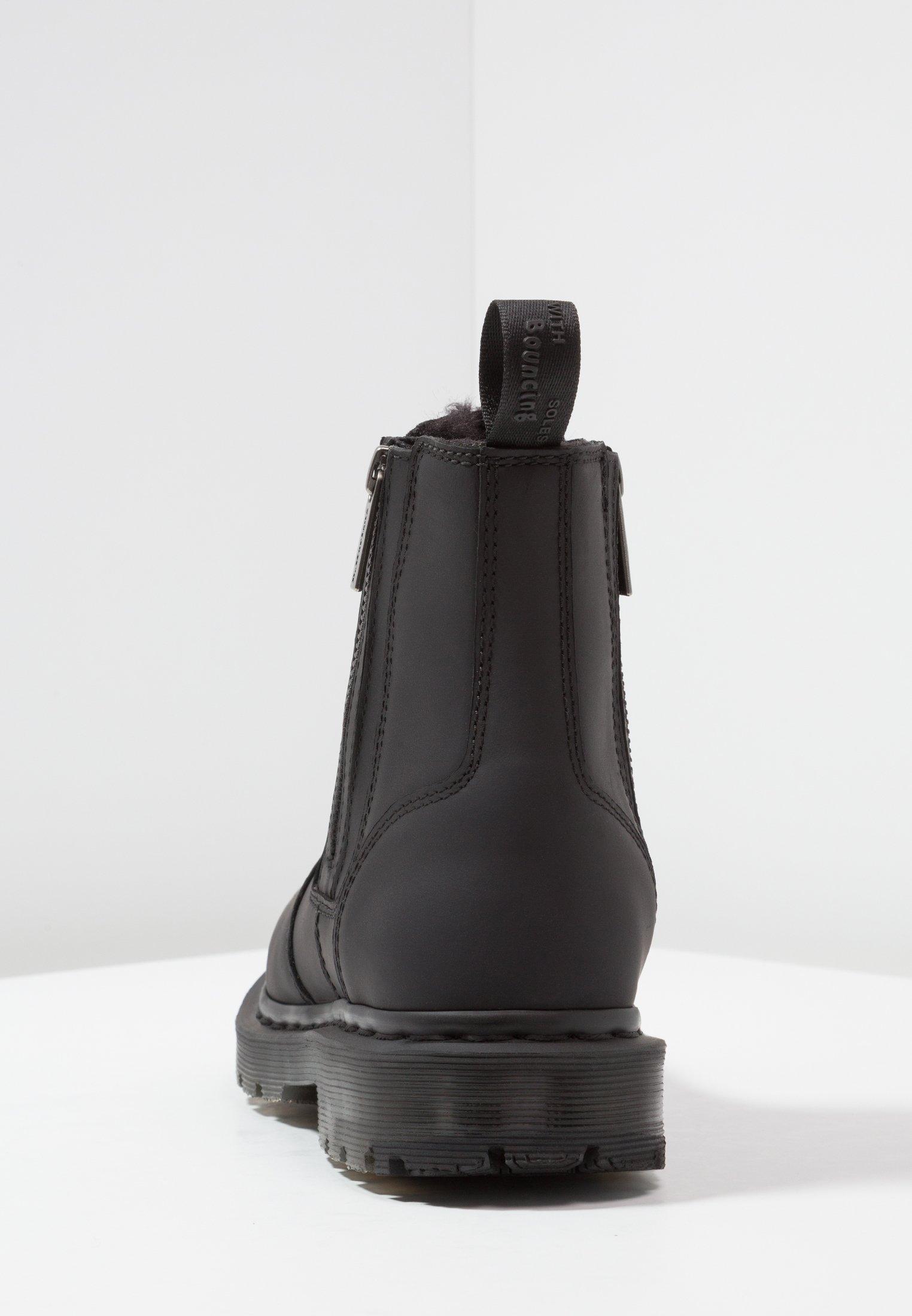 2976 ALYSON ZIPS SNOWPLOW Stövletter black