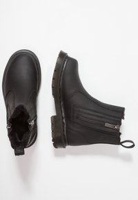 Dr. Martens - 2976 ALYSON ZIPS SNOWPLOW - Classic ankle boots - black - 3