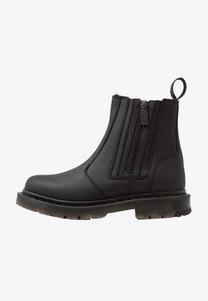 2976 ALYSON ZIPS SNOWPLOW - Kotníkové boty - black