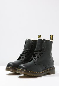 Dr. Martens - 1460 SERENA - Lace-up ankle boots - black - 3
