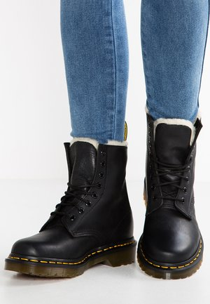 1460 SERENA - Lace-up ankle boots - black