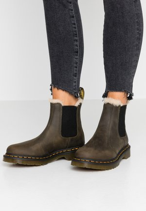 2976 LEONORE - Classic ankle boots - olive wyoming