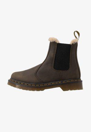 2976 LEONORE - Kotníkové boty - olive wyoming