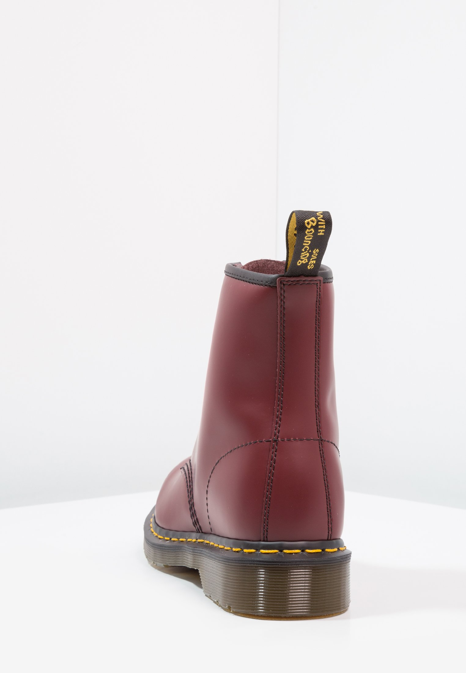 1460 BOOT Bottines à lacets cherry red rouge