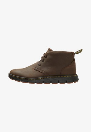 BACKLINE MID - Casual lace-ups - dark brown