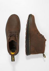 Dr. Martens - BACKLINE MID - Chaussures à lacets - dark brown - 1