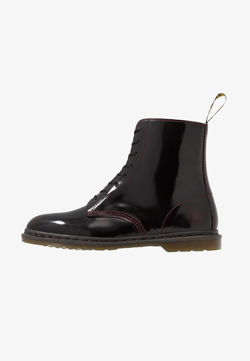 Dr. Martens - WINCHESTER II VEGAN BOOT - Lace-up ankle boots - cherry red arcadia