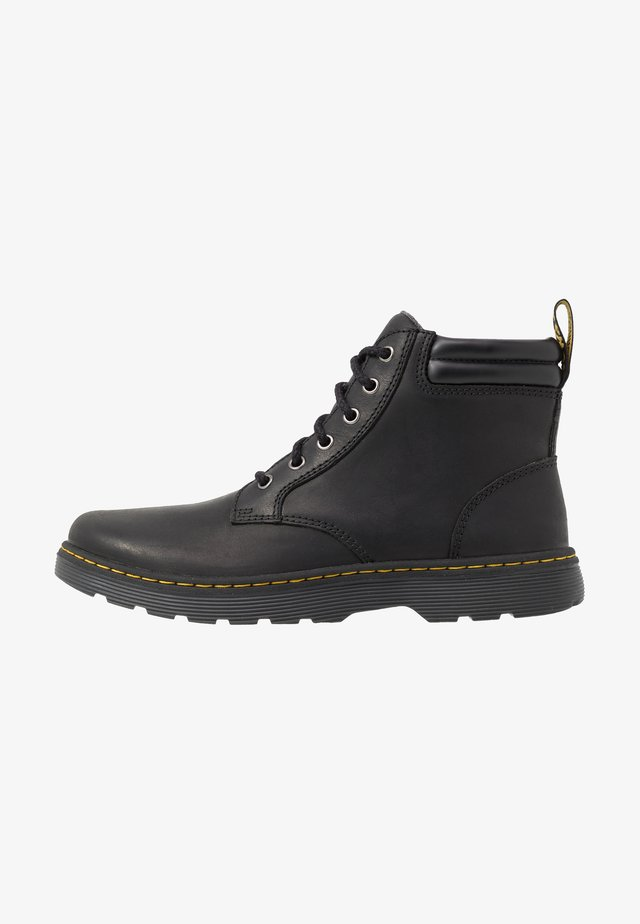 TIPTON - Lace-up ankle boots - black