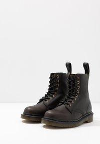 Dr. Martens - 1460 PASCAL - Lace-up ankle boots - black harvest - 2