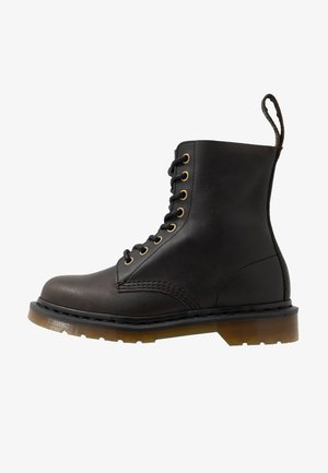 1460 PASCAL - Lace-up ankle boots - black harvest