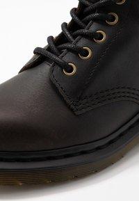 Dr. Martens - 1460 PASCAL - Lace-up ankle boots - black harvest - 5