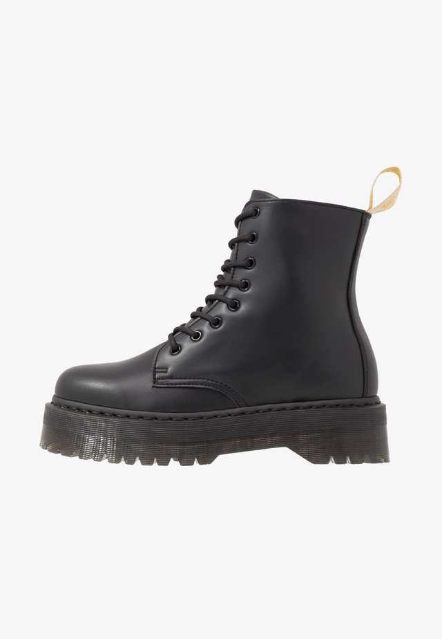 VEGAN JADON II MONO - Lace-up ankle boots - black
