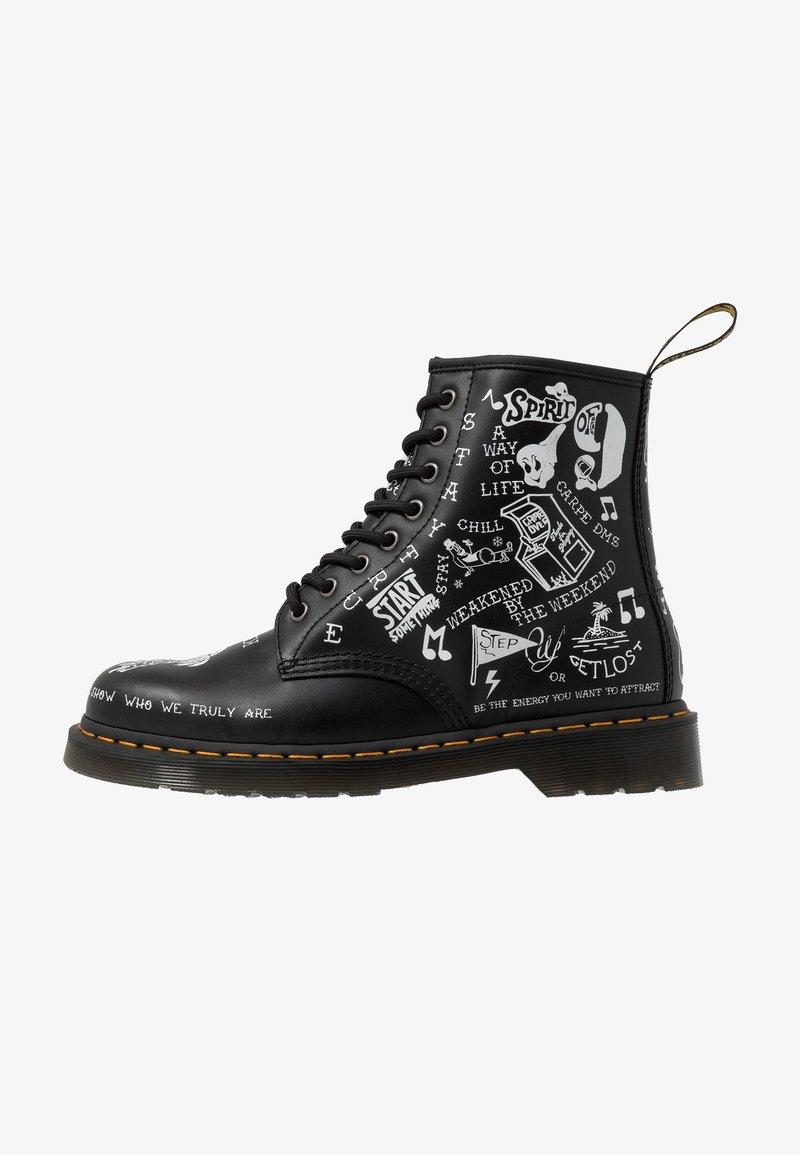 Dr. Martens - 1460 SCRIBBLE - Veterboots - black