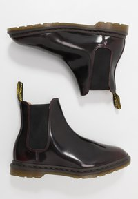 Dr. Martens - GRAEME II 8 EYE FORMAL BOOT - Classic ankle boots - cherry red/arcadia - 1