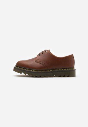 ZIGGY - Šněrovací boty - tan luxor