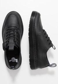 Dr. Martens - DANTE ZIP - Chaussures à lacets - black softy - 1
