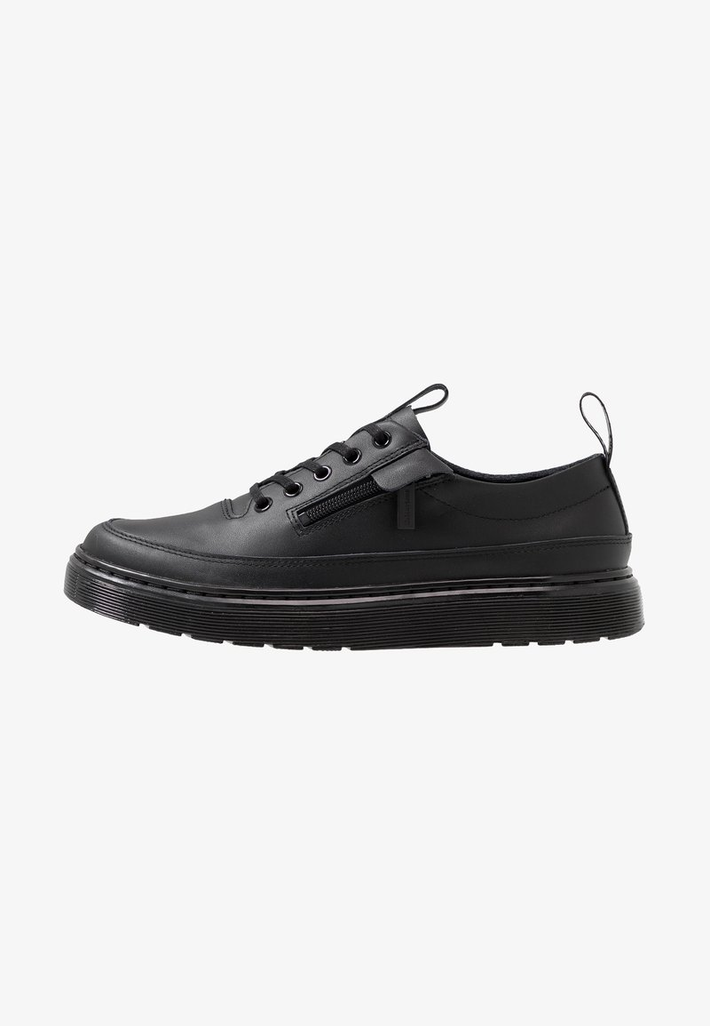 Dr. Martens - DANTE ZIP - Chaussures à lacets - black softy