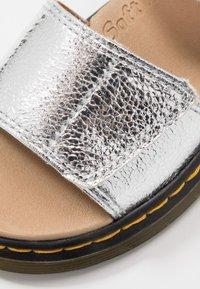Dr. Martens - ROMI - Sandals - silver crinkle metallic - 2