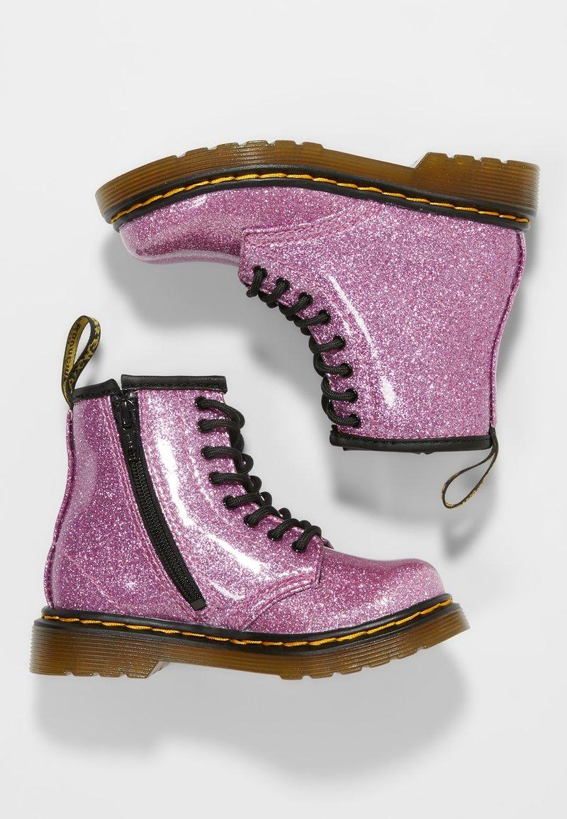 Dr. Martens - GLITTER - Stövletter - pink