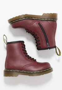 Dr. Martens - 8-EYE BOOT  - Classic ankle boots - cherry red - 0