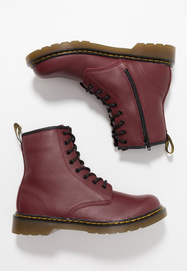 1460 Y SOFTY - Classic ankle boots - cherry red