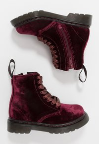 Dr. Martens - PASCAL - Bottines à lacets - cherry red - 0
