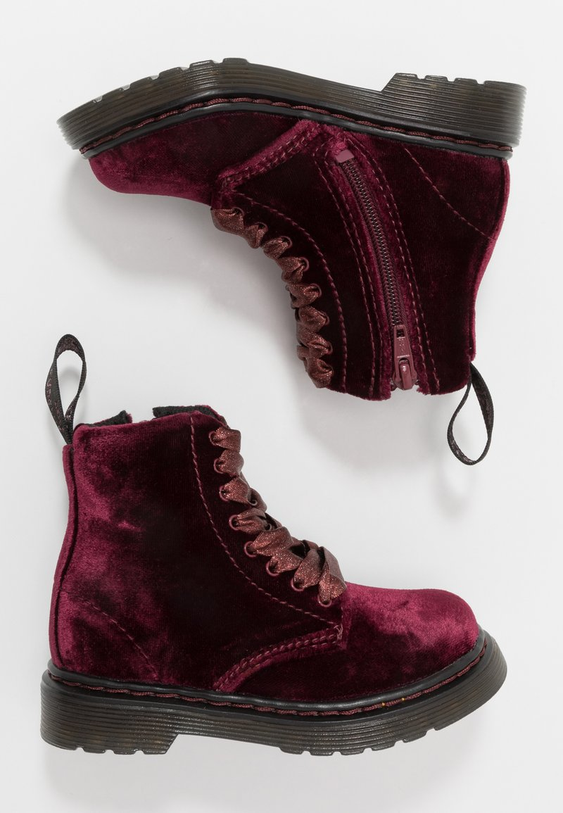 Dr. Martens - PASCAL - Bottines à lacets - cherry red