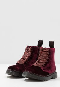 Dr. Martens - PASCAL - Bottines à lacets - cherry red - 3