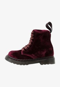 Dr. Martens - PASCAL - Bottines à lacets - cherry red - 1