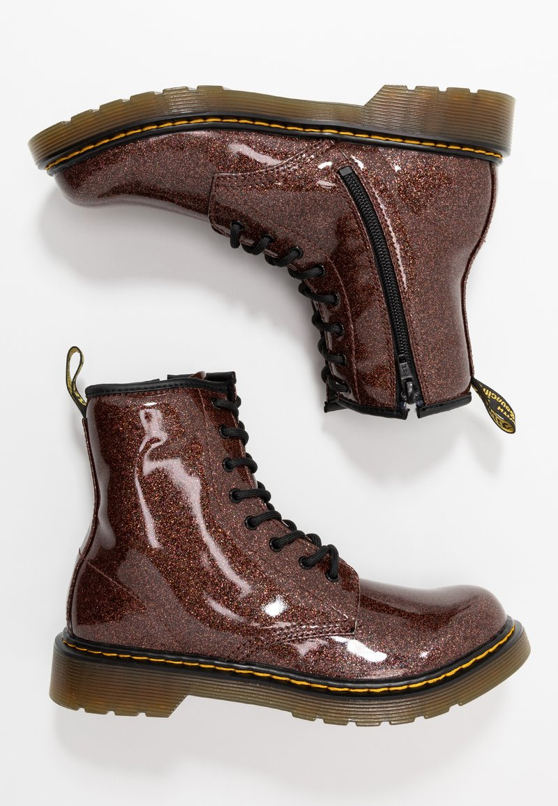 Dr. Martens - 1460 GLITTER YOUTH - Veterboots - rose brown