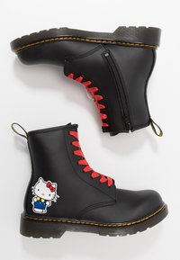 Dr. Martens - 1460 HELLO-KITTY  Y - Lace-up ankle boots - black - 1