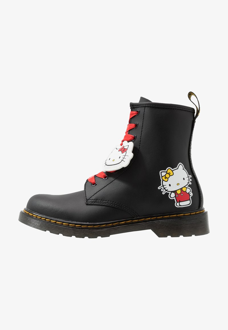 Dr. Martens - 1460 HELLO-KITTY  Y - Lace-up ankle boots - black
