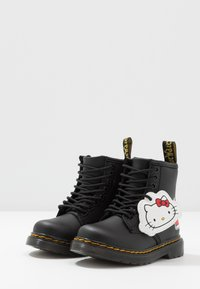 Dr. Martens - 1460 HELLO-KITTY  T - Lace-up ankle boots - black - 2