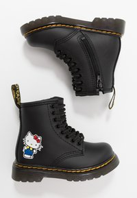 Dr. Martens - 1460 HELLO-KITTY  T - Lace-up ankle boots - black - 1