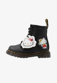 Dr. Martens - 1460 HELLO-KITTY  T - Lace-up ankle boots - black - 0