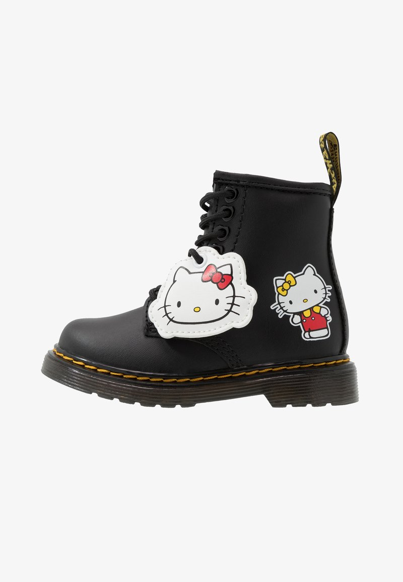 Dr. Martens - 1460 HELLO-KITTY  T - Lace-up ankle boots - black