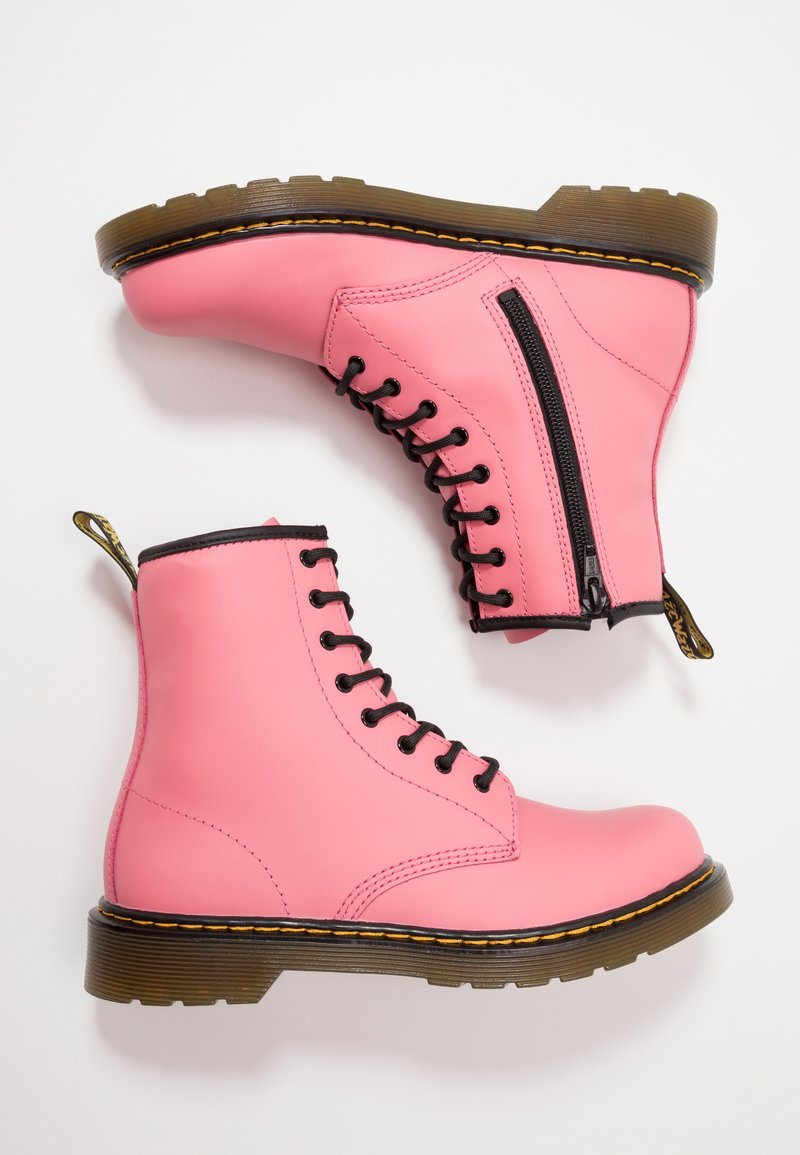 Dr. Martens - 1460 Y Romario - Lace-up ankle boots - acid pink romario